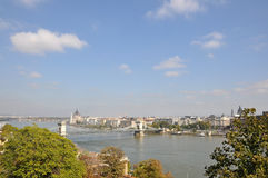 Budapest view Royalty Free Stock Images