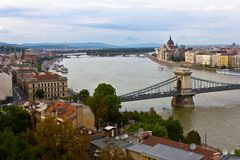 Budapest View Royalty Free Stock Photos