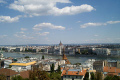 Budapest view. Royalty Free Stock Image