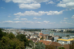 Budapest view. Royalty Free Stock Photography