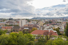 Budapest. View of Buda and Óbuda Royalty Free Stock Photography