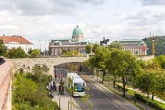 Budapest. View of Buda and Buda Castle 2 Stock Photos