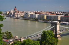 Budapest view Stock Image