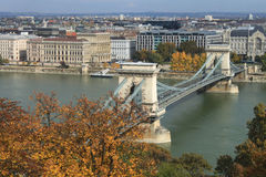 Budapest view Royalty Free Stock Image