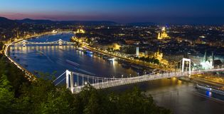 Budapest view from Freedom mountain