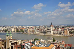 Budapest view Stock Images