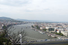 Budapest view Stock Photography