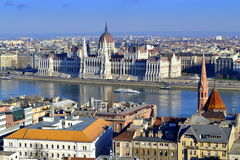 Budapest vista Stock Photography