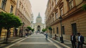 Budapest, Węgry, Czerwiec 2017: Jeden piękne katedry Budapest - bazylika święty Istvan szeroki zbiory