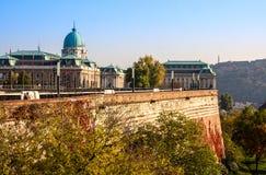 BUDAPEST WĘGRY, Listopad, - 5, 2015: Budapest na Budy stronie Bud wzgórza są ogromnym terenem w Zachodniej części Budapest Obrazy Royalty Free