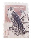 BUDAPEST, WĘGRY - 02 2016 LUTY: znaczek drukujący w USSR przedstawieniu Zdjęcia Stock
