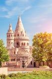 Budapest, Węgry Piękny, ranku widok Danube rzeka, zdjęcie stock