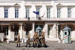 Budapest Węgry, Marzec, - 03, 2014: Gwardia prezydencka Budapest Obrazy Royalty Free