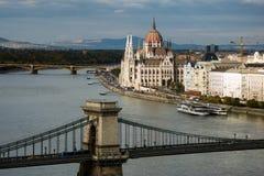 Budapest Węgry punkt zwrotny Obrazy Royalty Free