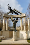 Budapest War Statue Royalty Free Stock Photography