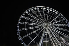 Budapest wheel royalty free stock photos