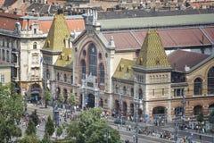 budapest wielkiej hali Hungary rynek fotografia stock