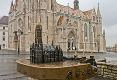 Budapest. Winter 2014 Danube Budapest city travel river map hungary capital royalty free stock photography