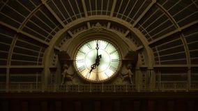 budapest zegarowa keleti stacja kolejowa Obrazy Stock