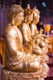 Budas no templo de DaCiShi Foto de Stock