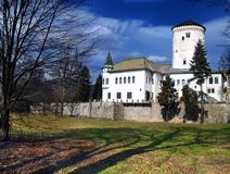 Budatin Castle. Near Zilina town in Slovakia Royalty Free Stock Images