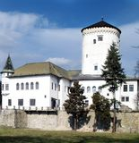 Budatin Castle. Near Zilina town in Slovakia royalty free stock photo