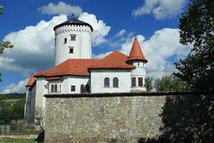 Budatin castle in Zilina Royalty Free Stock Images