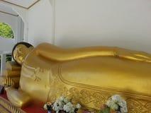 Budda睡眠 图库摄影