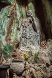 Budda,越南雕象在大理石山的 免版税库存图片