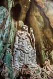 Budda,越南雕象在大理石山的 库存照片