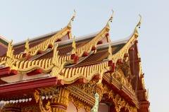 Budda Ταϊλανδός εκκλησιών στεγών Στοκ Εικόνες