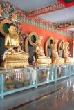 статуи budda золотистые Стоковое Изображение RF