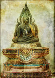 Budda antiguo Foto de archivo libre de regalías