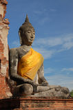 Budda, Ayutthaya, Tailândia Imagem de Stock Royalty Free