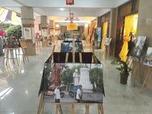 Budda-Bild-Ausstellung Stockfotografie