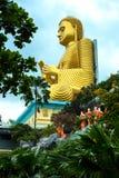 Budda de oro Imagen de archivo