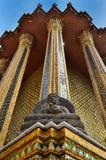 Budda de piedra Foto de archivo libre de regalías