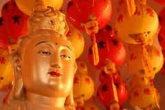 Budda dourado Imagem de Stock Royalty Free