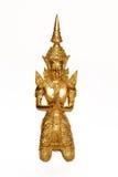 Budda dourado Fotos de Stock Royalty Free