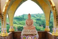 Budda en Spandrel Fotos de archivo
