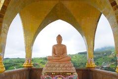 Budda en Spandrel Imágenes de archivo libres de regalías