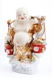 Budda felice Fotografia Stock