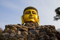 Budda Head Stock Photo