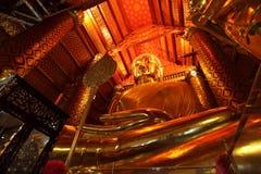 Budda im ayuthaya Stockbild