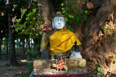 Budda in kalasin Royalty Free Stock Photos