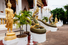 Budda. Sclupture in temple Thailand Royalty Free Stock Photo