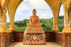Budda in Spandrel royalty free stock images