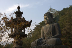 Budda statue in Icheon Stock Photos