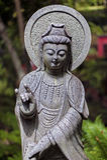 Budda stone monument. Royalty Free Stock Photography