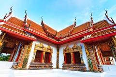 Budda temple building Royalty Free Stock Photos